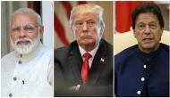 भारत-पाकिस्तान के बीच चल रहे तनाव को लेकर अमेरिकी राष्ट्रपति ट्रंप का बड़ा बयान