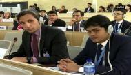 Diplomat from J-K rebuts Pakistan's 'fabricated narrative' on Kashmir in UNHRC