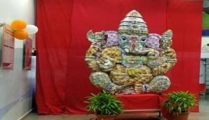 Maharashtra: Ganesh idol made of currency notes worth Rs 21 lakh
