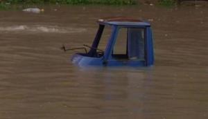 Gujarat: Bharuch faces flood-like situation as Narmada crosses danger mark