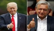 Donald Trump discuss border security with Mexican president over phone