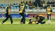 आंद्रे रसेल के साथ हुआ बड़ा हादसा, बीच मैच में स्ट्रेचर पर ले जाया गया अस्पताल
