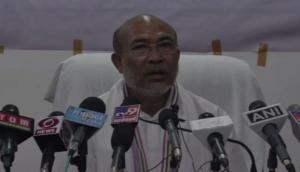 Will launch mass drive against illegal sale of liquor: Manipur CM N Biren Singh