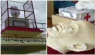 UP: Mahatma Gandhi statue vandalised in college by unidentified miscreants