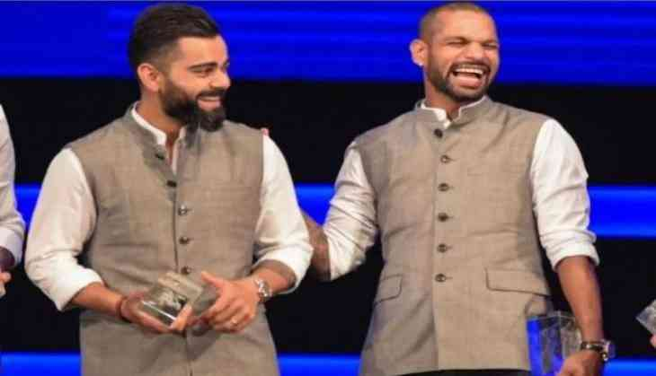 Shikhar Dhawan 'spill the beans' on Virat Kohli's dressing room playlist; watch video