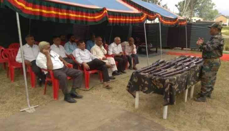 Indian Army organises training sessions for village defence committees in J-K