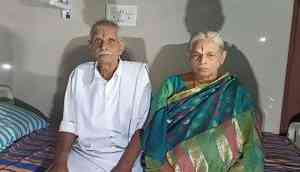 Andhra couple Mangayamma and Raja Rao become 'world's oldest parents' take twin girls home