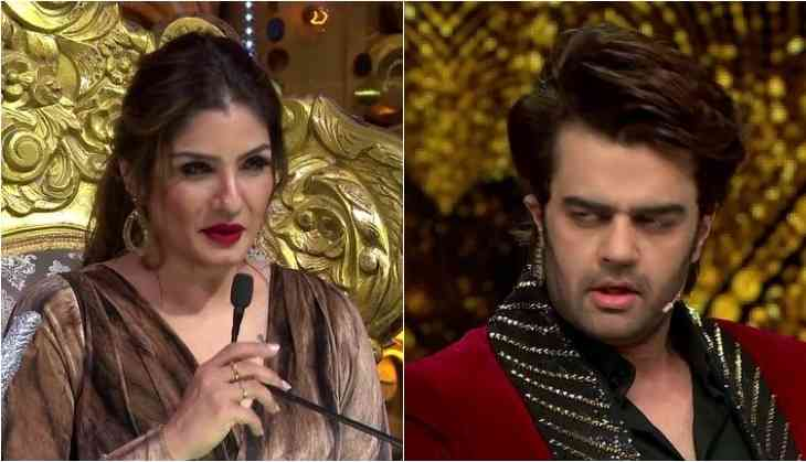 Nach Baliye 9: Raveena Tandon indulge in a fight with host Manish Paul; shoot interrupt for hours