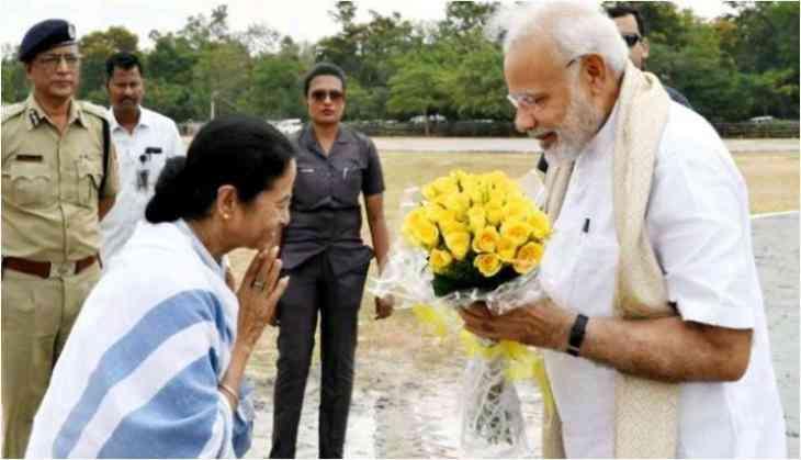 Mamata Banerjee greets PM Modi on his birthday