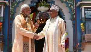 Nepal PM KP Sharma Oli wishes PM Modi on his 69th birthday in three languages