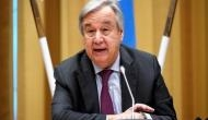 We are losing the race' on climate catastrophe, warns UN chief