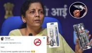 E-cigarette banned in India: Twitterati asks, 'Why not ban cigarettes as well?'