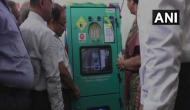 Railways installs plastic bottle crushing machine in Mumbai Rajdhani Express