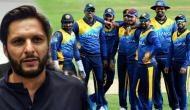 शाहिद अफरीदी ने श्रीलंकाई खिलाड़ियों पर लगाया बड़ा आरोप, बोलेे- पैसों के कारण..