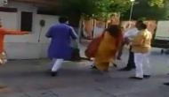 Delhi: Mehrauli BJP chief removed from post after allegedly slapping wife at party's office; see video