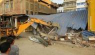 Manipur: Illegal shops dismantled along Naga river in Imphal