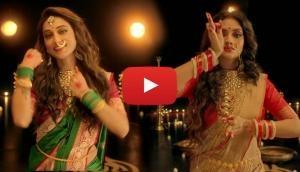 Watch Nusrat Jahan and Mimi Chakraborty dance performance on 'Ashey Maa Durga'