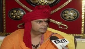 Ram temple using gold will be constructed in Ayodhya if we win the case: Swami Chakrapani