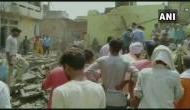 पटाखा फैक्ट्री में भीषण विस्फोट, 6 लोगों की दर्दनाक मौत, मलबे में दबे कई लोग