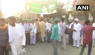 Delhi: UP farmers begin march towards Kisan Ghat