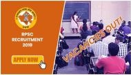 RPSC Recruitment 2019: Rajasthan government released 5000 vacancies for school lecturer; important details to know