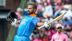 Shikhar Dhawan on the brink of joining Virat Kohli and Rohit Sharma in T20 elite list