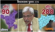 विधानसभा चुनाव: महाराष्ट्र और हरियाणा में 21 अक्टूबर को मतदान, 24 अक्टूबर को आएगा रिजल्ट