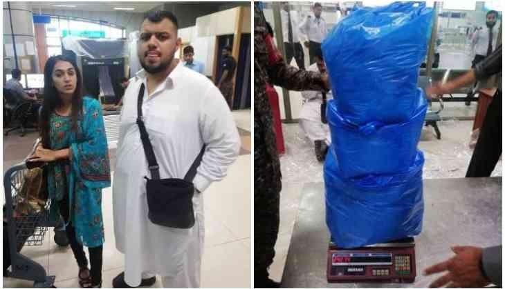 British-Pakistani couple caught smuggling heroin worth Rs380 million