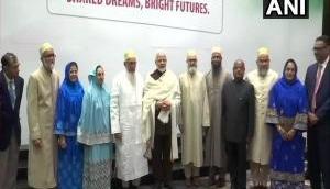 PM Modi meets Dawoodi Bohra community members in Houston