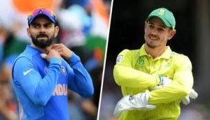 India win the toss against South Africa, Virat Kohli decides to bat first