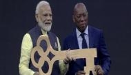 Howdy Modi: PM Modi given key to Houston on arrival at Houston