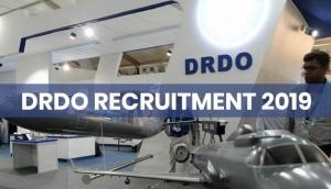 DRDO Recruitment 2019: Apply for these posts and salary upto Rs 81,000