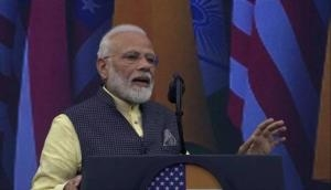 Pakistan bothered by abrogation of Article 370 as it nurtures terrorism: PM Modi in US