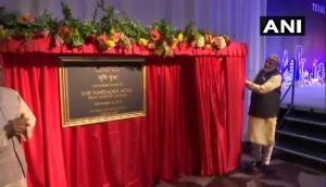 PM Modi inaugurates Gandhi Museum at a community event in Houston