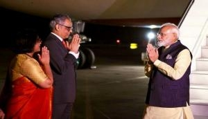 Waited for long to greet PM Modi, says Syed Akbaruddin