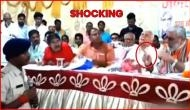 Shocking Video: Union Minister Ashwini Choubey openly threatens police officer in Bihar