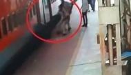 Video: चलती ट्रेन में चढ़ रहे युवक का फिसला पैर, फिर खुदा बनकर आया RPF का जवान लेकिन..