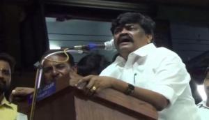 Tamil Nadu: AIADMK minister stirs controversy, calls Congress MP 'ungrateful dog'