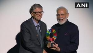 प्रधानमंत्री नरेंद्र मोदी को मिला 'ग्लोबल गोलकीपर अवार्ड', कहा- ये 130 करोड़ भारतीयों का सम्मान