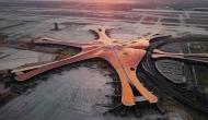 चीन की राजधानी बीजिंग में आसमान से दिखाई दे रहा ये अद्भुत नजारा, तस्वीरें देखकर हैरान रह जाएंगे आप