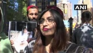 Gulalai Ismail: The new face of anti-Pakistan protest in New York