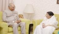 President Kovind, Prakash Javadekar wish Lata Mangeshkar on 90th birthday