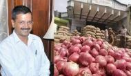 केजरीवाल ने रवाना किये प्याज के 70 ट्रक, यहां से खरीद सकते हैं 23 रुपये किलो
