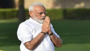 PM Narendra Modi pays tributes to Acharya Mahapragya on his birth centenary