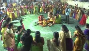 Nine-day floral festival Bathukamma celebration begins in Telangana