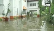 Bihar: Flood water enters Agriculture Minister's residence in Patna