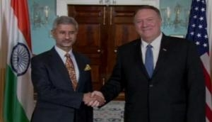 EAM Jaishankar meets US Secretary of State Michael Pompeo