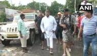 Ravi Shankar Prasad visits flood-hit areas in Patna