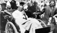 Mahatma Gandhi brought to life through 3D hologram in Paris