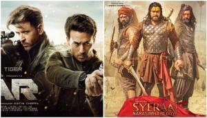War vs Sye Raa Narasimha Reddy: Hrithik Roshan, Tiger Shroff overshadow Chiranjeevi starrer in North